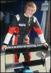 British F3 driver Alex Waters