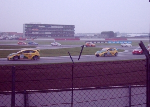BTCC: Jason Plato and Darren Turner blast through Luffield in race one at Silverstone