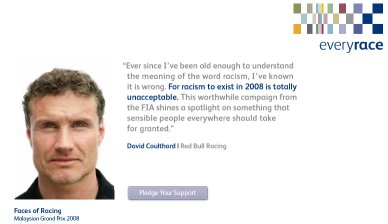 Every Race website: David Coulthard's contribution