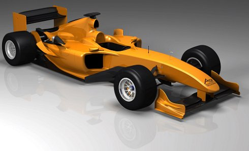 A1GP: first image of 2008/09 car