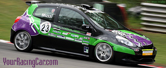 Fulvio Mussi of YourRacingCar.com out on track at Brands Hatch