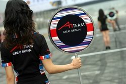 Grid girl in Zhuhai