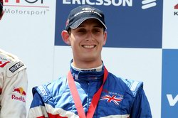 Despite his podium, Olly Jarvis conceded the British title hunt was over