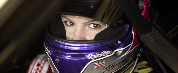 Katherine Legge, Audi driver, after her original signing last year