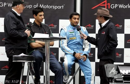 Adam Khan and Narain Karthikeyan interviewed