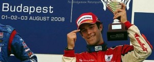 Bruno Senna earned himself a pair of third-place trophies in Hungary