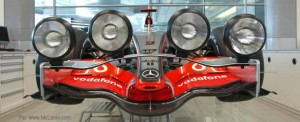 The light at the end of the tunnel: McLaren's hoax headlights