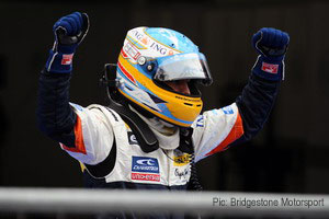 A second consecutive win for Fernando Alonso