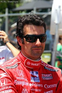 Dario Franchitti - now with actual hair