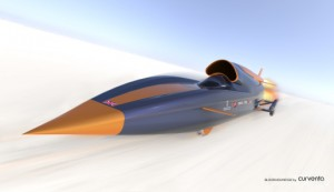 Bloodhound SSC - front view