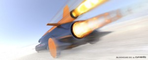 Bloodhound SSC world speed record attempt