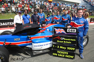 Danny Watts and Team GBR promote the Brands Hatch season finale