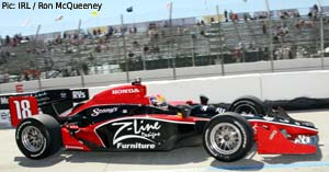 Z-Line, who sponsored Bruno Junqueira at Coyne last year, are back this weekend with Wilson