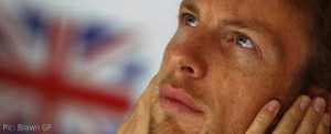 Jenson Button ponders the weekend ahead