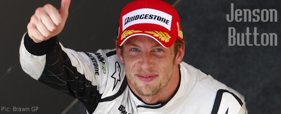 Jenson Button has more to be happy about this year than recently