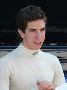 Jonathan Kennard, driving for AS Roma in Superleague Formula