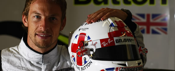 Button runs a competition each year for a fan-designed helmet
