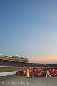 Richmond International Raceway - great location, not-so-great event