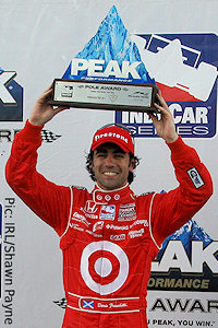Another pole award for Dario Franchitti