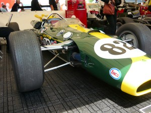 Jim Clark's Indy500-winning Lotus at the 2009 Goodwood Festival of Speed