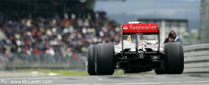 Lewis Hamilton led Friday practice at the Nurburgring