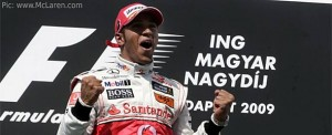 Lewis Hamilton, back on the top step
