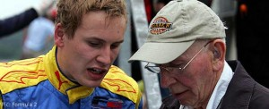 Henry Surtees at Spa recently with father John