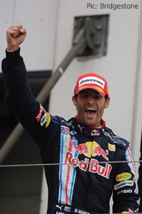 Mark Webber: pleased as punch