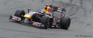 Mark Webber made the most of his pole position
