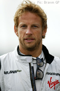 Jenson Button in Spa this year