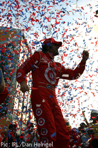 Dario Franchitti: 2009 IndyCar champion