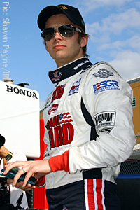 Panther Racing's Dan Wheldon