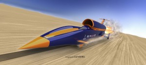 Bloodhound SSC: Front dynamic view