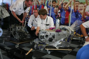 Superleague is sharing its engine with the Bloodhound team