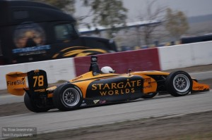 Christodoulou was driving the same car that Simona de Silvestro challenged for the 2009 title in