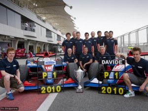 iSport - driver and team champions with Turvey (left) and Valsecchi (right)