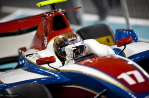 Davide Valsecchi takes victory in the GP2 Asia round two sprint race