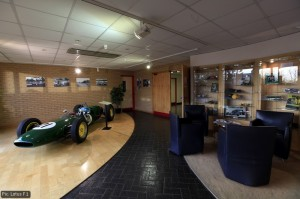 Lotus F1 reception