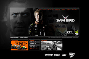 Sam Bird's website