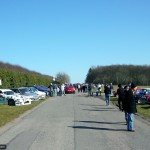 Many car clubs came and displayed their vehicles