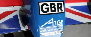 Team GBR's A1GP car
