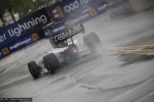 Oil and water: JK Vernay in the #7 Sam Schmidt Motorsports / Lucas Oil car won in the rain of St Pete