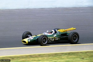 Jim Clark in the Lotus Type 38, 1965