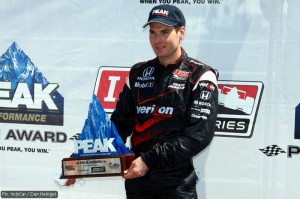 Will Power earned pole for tomorrow