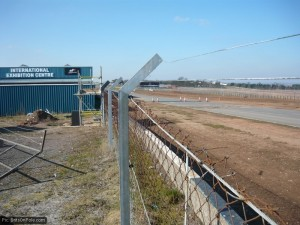 The Donington track as it is now