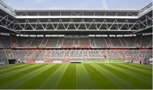 Race of Champions: This year Fortuna Dusseldorf provides the venue