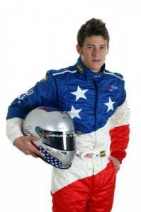 Marco Andretti on duty with A1 Team USA