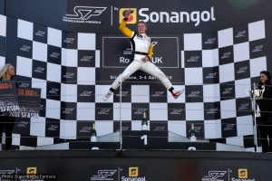 Craig Dolby: a happy man on the podium