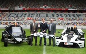 Race of Champions event launch at Dusseldorf's ESPRIT Arena (Pic: RoC)