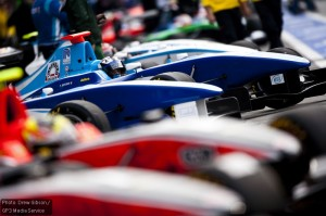 The GP3 field is made up of 30 cars in 10 teams